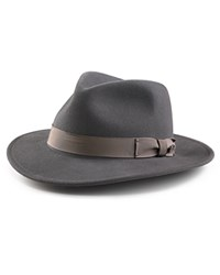 Bailey Of Hollywood Curtis Low Profile Hat Grey