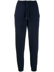 Mrz Two Tone Trousers Blue