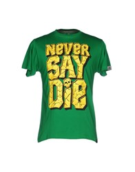 Upper Playground Topwear T Shirts Green