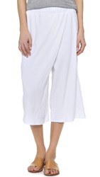 Stateside Double Gauze Crossover Pants White