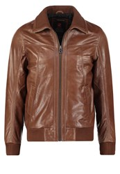 Redskins Foxter Cruiser Leather Jacket Cognac