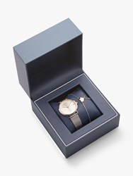 Tommy Hilfiger Pippa 2770053 'S Bracelet Strap Watch And Bracelet Gift Set Silver Gold