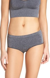 B.Tempt'd Women's By Wacoal Briefs Dark Grey Heather