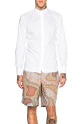 Kolor Embroidered Collar Shirt In White