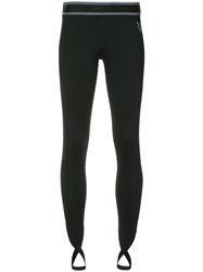 Marc Cain Sports Leggings With Stirrup Ankles Black