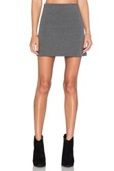 Fifteen Twenty Flare Mini Skirt Charcoal