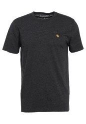 Abercrombie And Fitch Basic Tshirt Black