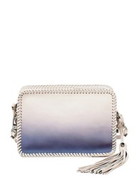 Botkier Quincy Mini Crossbody Leather Bag Indigo Ombre