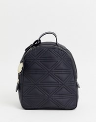 Emporio Armani Quilted Nylon Backpack 81386 Black