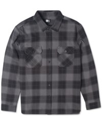Rip Curl Ruggles Plaid Flannel Long Sleeve Shirt