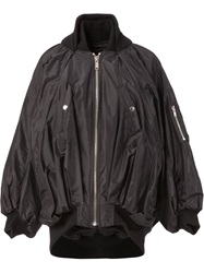 Undercover Oversized Bomber Jacket Black