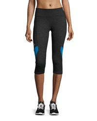 Marika Tek Performance Capri Leggings Blue Lemo