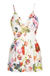 Love Strappy Playsuit By Red