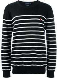 Polo Ralph Lauren Striped Sweater Black