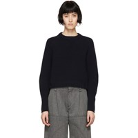 Chloe Navy Cashmere Chunky Sweater