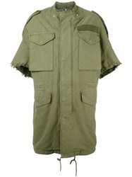 R 13 R13 Oversized Parka Green