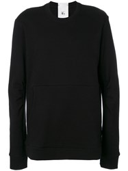 Lost And Found Ria Dunn Oversized Pouch Pocket Sweatshirt Men Cotton M Black