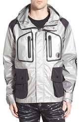Men's Prps 'Civet' Water Resistant Reflective Hooded Jacket