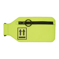 Off White Yellow Neon Leg Pouch