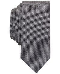 Penguin Men's Biloki Houndstooth Tie Black