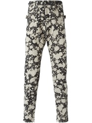 Ktz Spattered Trousers Grey