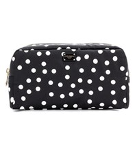 Dolce And Gabbana Polka Dot Cosmetic Case Black