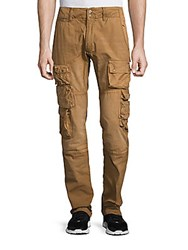 Prps Twelve Pocket Slim Fit Cotton Cargo Pants