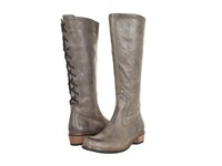 Wolky Pardo Grey Vintage Leather Women's Boots Gray