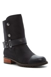 Matt Bernson Tundra Element Genuine Shearling Lined Boot Black