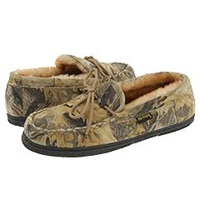 Old Friend Camouflage Moccasin Camouflage W Stony Fleece Men's Slippers Multi