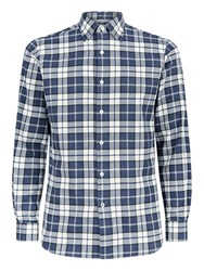 Aquascutum London Check Shirt Blue