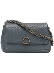 Agnona Mini 'Babe' Shoulder Bag Grey