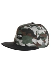 Cayler And Sons Toolin Cap Woodland Black Green