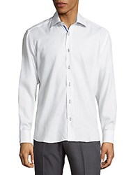 Bertigo Casual Cotton Button Down Shirt White