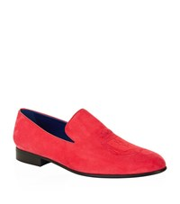 Billionaire Suede Crest Slipper Male Multi