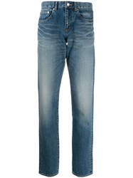 Saint Laurent Stonewashed Effect Skinny Fit Jeans 60