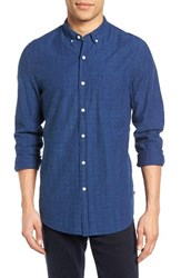 Ag Jeans Men's Grady Trim Fit Jacquard Sport Shirt
