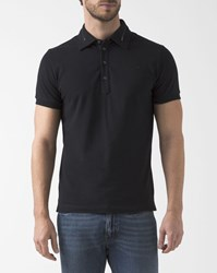 Diesel Black Zipped Klark Polo Shirt