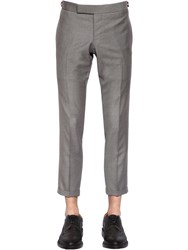 Thom Browne Skinny Light Wool Gabardine Pants