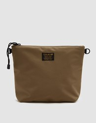 Neighborhood Canvas Pouch In Khaki