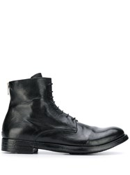 Officine Creative Flat Lace Up Boots 60