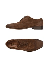Maldini Lace Up Shoes Brown
