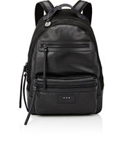 John Varvatos Star U.S.A. Men's Detroit Backpack Black