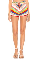 Wildfox Couture Gigi Crochet Short Red