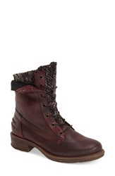 Women's Otbt 'Carlsbad' Boot Red Leather