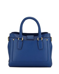 Cole Haan Esme Small Leather Tote Bag Navy