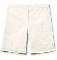 Norse Projects Aros Cotton Twill Shorts Ivory