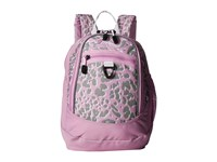 High Sierra Mini Fatboy Backpack Shadow Leopard Iced Lilac White Backpack Bags Pink