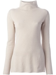 Etro Turtleneck Sweater Nude And Neutrals