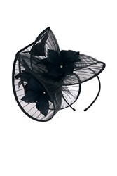 Coast Valentina Fascinator Black